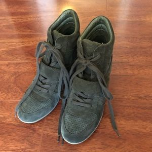 Ash green bowie wedge sneakers
